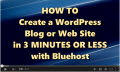 How to create a blog (video tutorial)