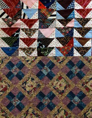 Quilts.